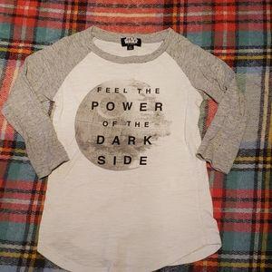 Girls Star wars shirt